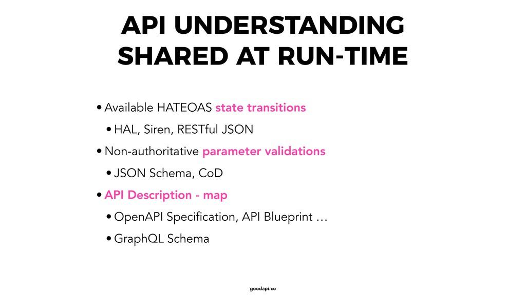 goodapi.co API UNDERSTANDING SHARED AT RUN-TIME...