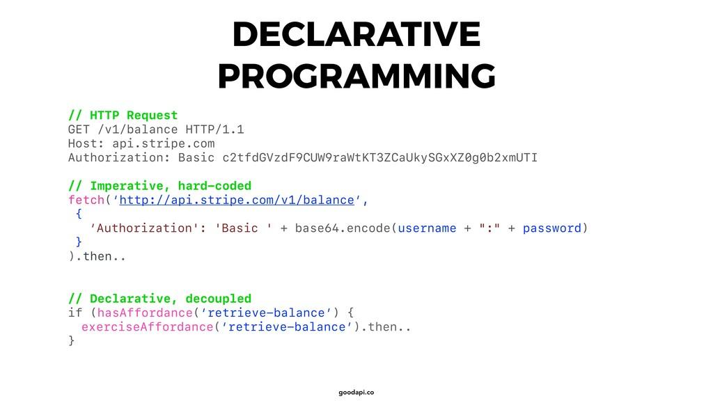 goodapi.co DECLARATIVE PROGRAMMING // HTTP Requ...