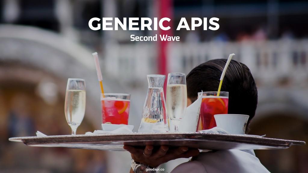 goodapi.co goodapi.co GENERIC APIS Second Wave
