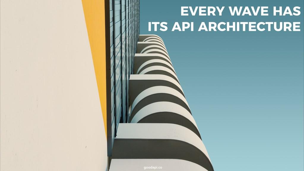 goodapi.co goodapi.co EVERY WAVE HAS ITS API AR...