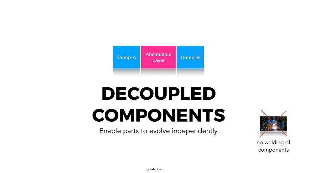 goodapi.co DECOUPLED COMPONENTS Enable parts to...