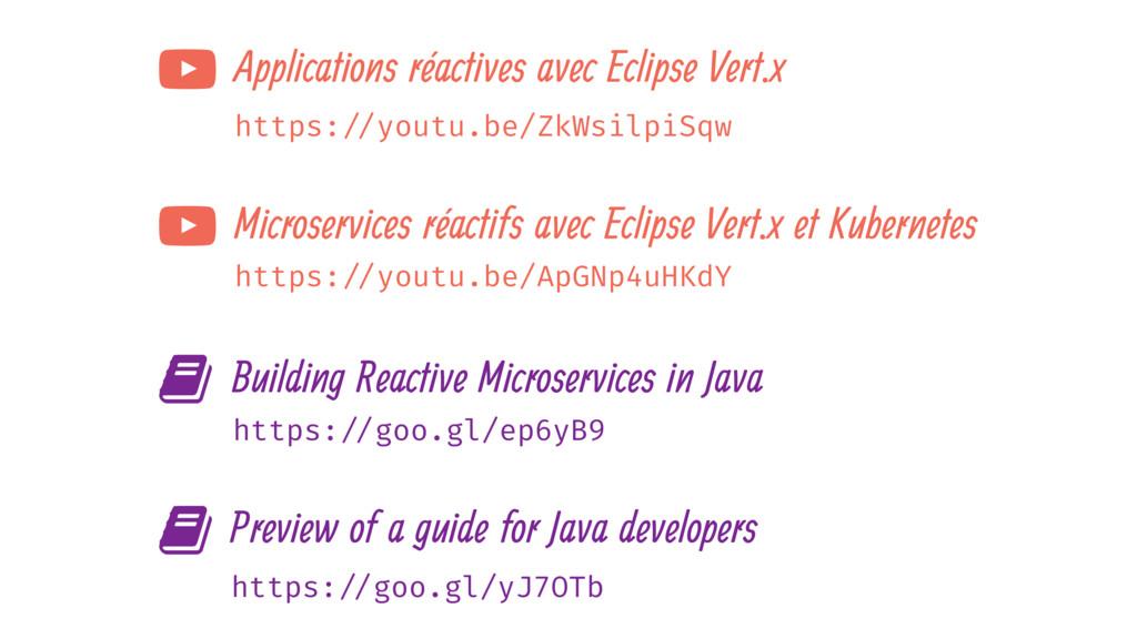 https: //youtu.be/ZkWsilpiSqw : Applications ré...