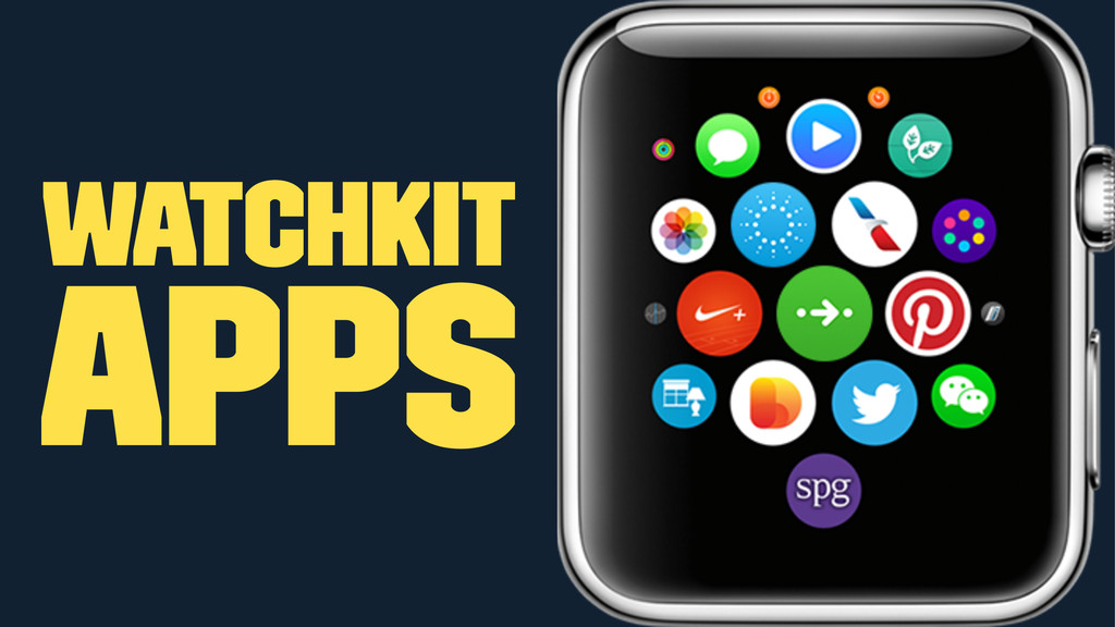 WatchKit Apps