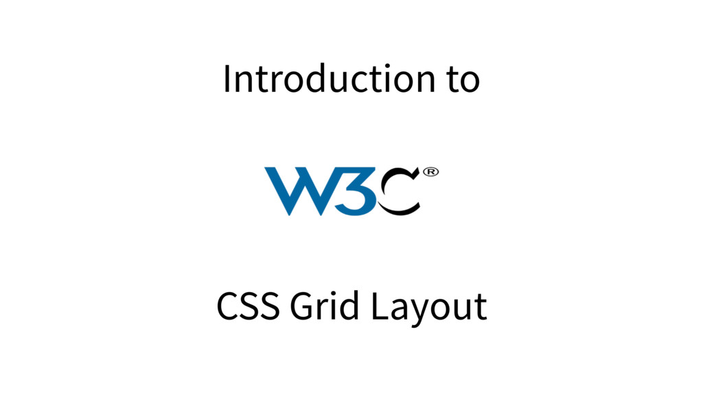 Introduction to CSS Grid Layout