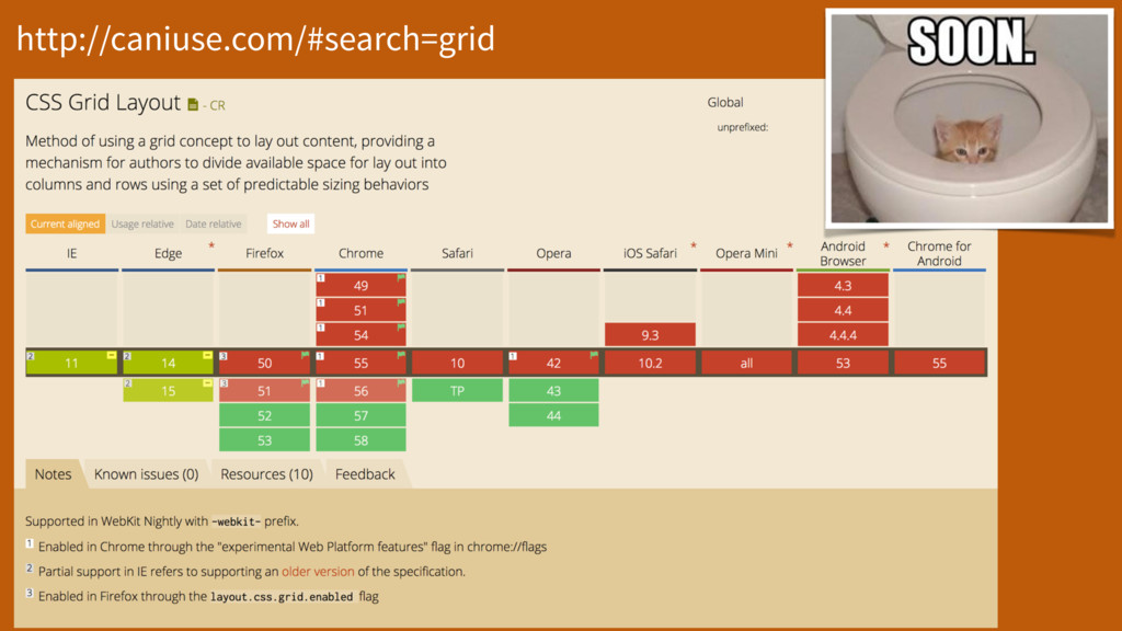 http://caniuse.com/#search=grid