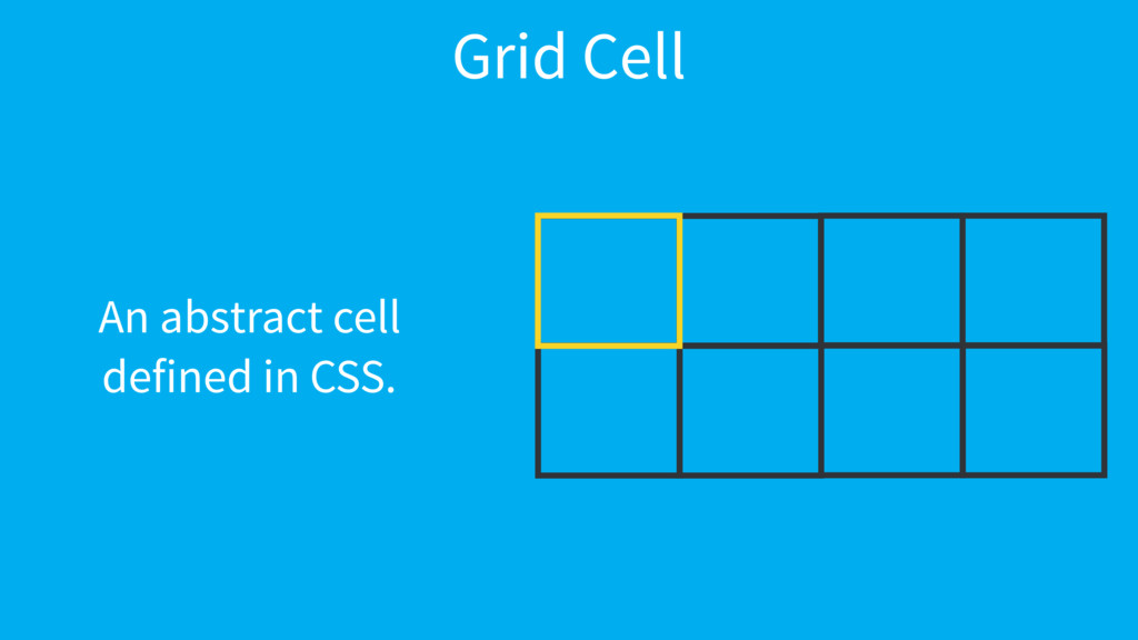 Grid Cell An abstract cell 