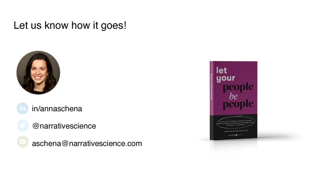 in/annaschena @narrativescience aschena@narrati...