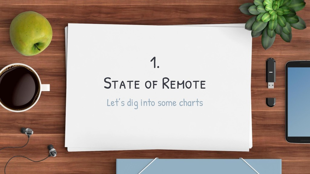 1. State of Remote Let's dig into some charts