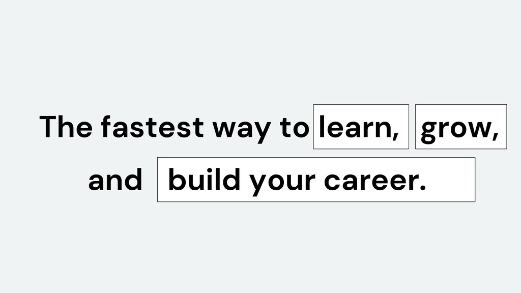 The fastest way to learn, build your career. an...