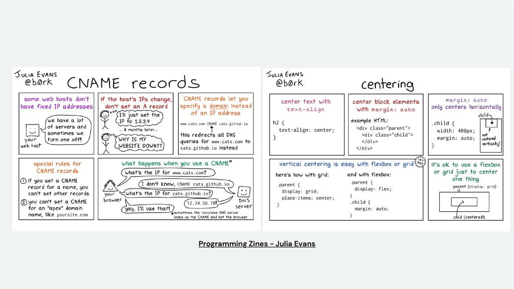 Programming Zines - Julia Evans
