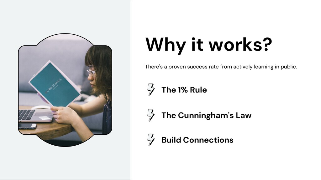 Why it works? There's a proven success rate fro...