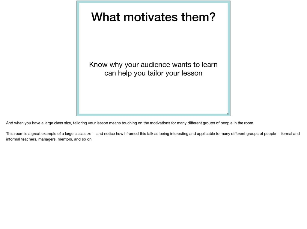 What motivates them? Know why your audience wan...