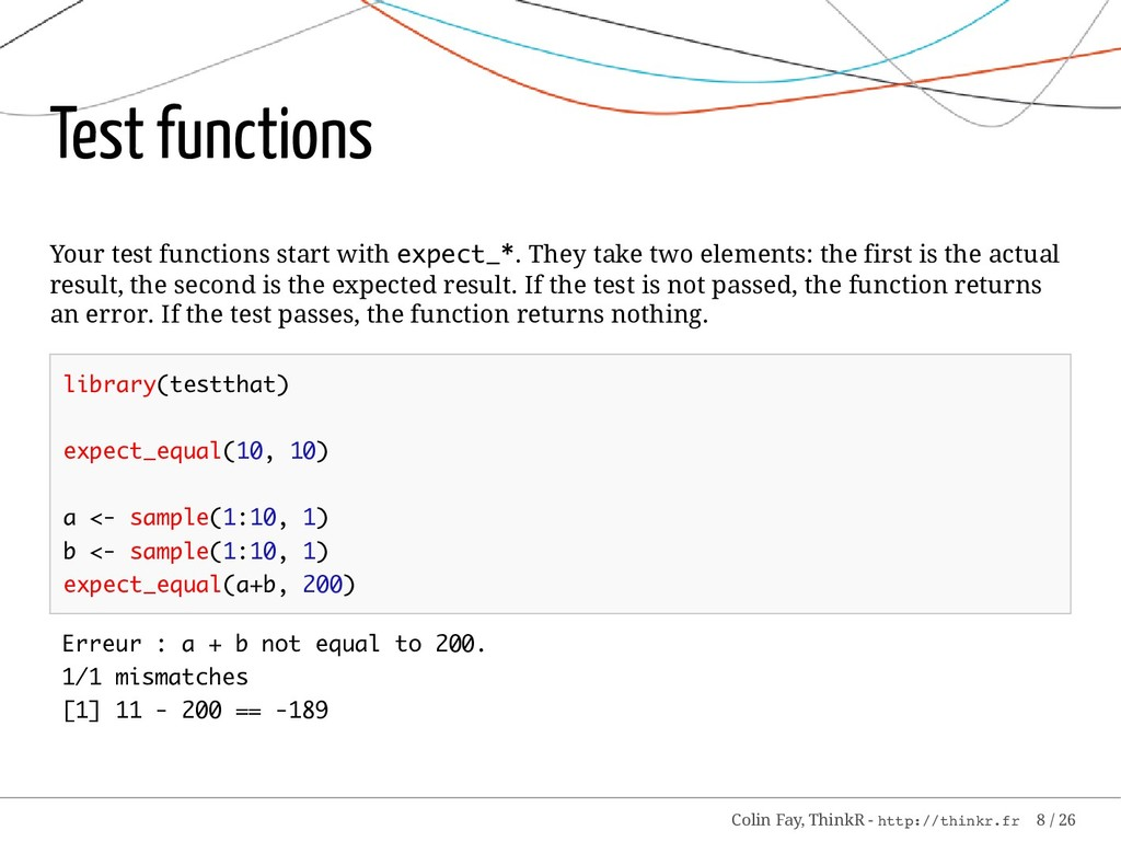 Test functions Your test functions start with e...