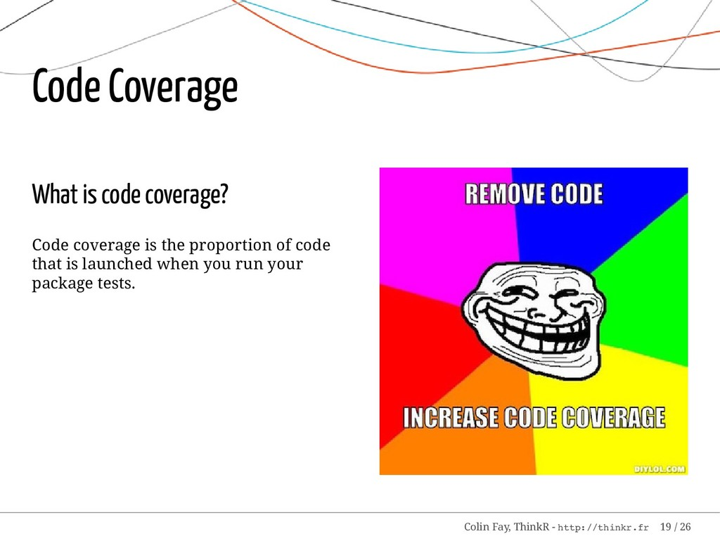 What is code coverage? Code coverage is the pro...