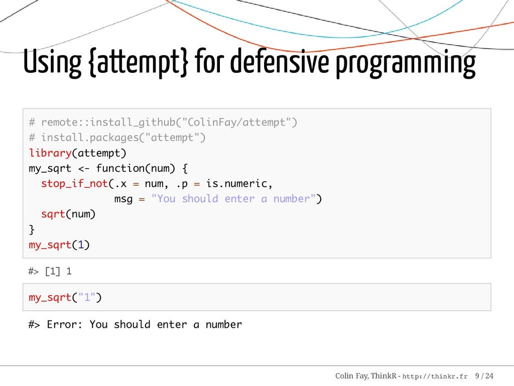 Using {attempt} for defensive programming # rem...