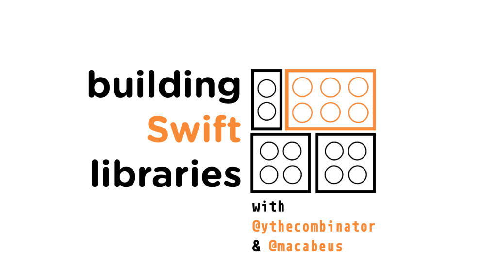 building Swift libraries with @ythecombinator &...