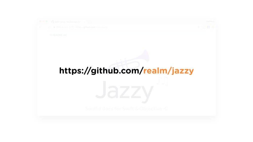 https://github.com/realm/jazzy