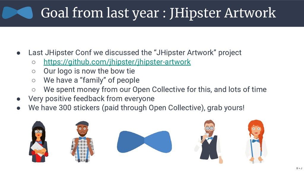 """● Last JHipster Conf we discussed the """"JHipster..."""