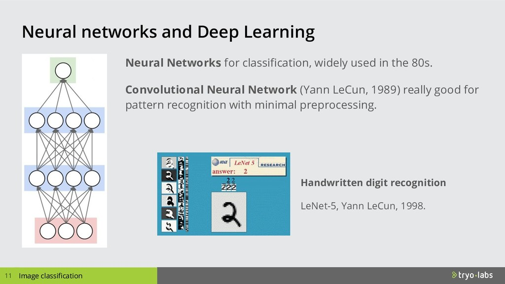 Image classification Neural networks and Deep L...