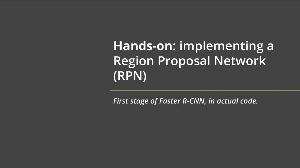Hands-on: implementing a Region Proposal Networ...