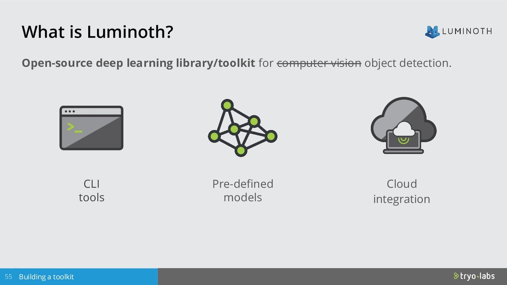 What is Luminoth? Building a toolkit Open-sourc...