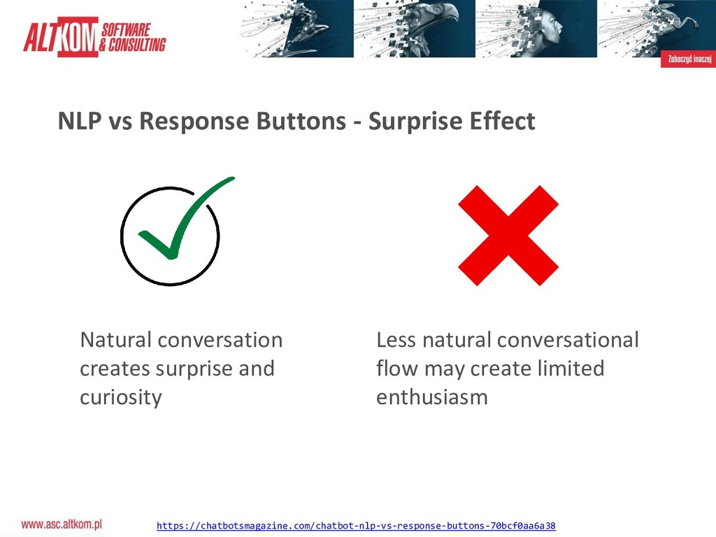 NLP vs Response Buttons - Surprise Effect Natur...