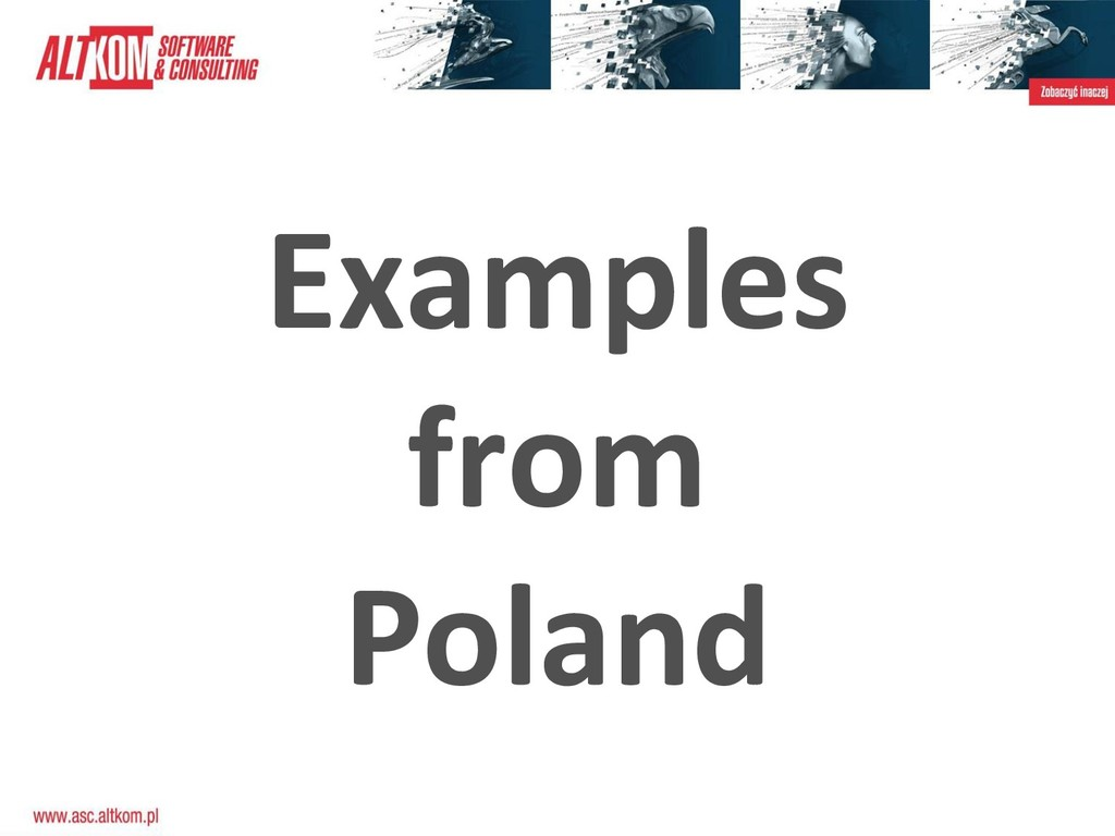 Examples from Poland