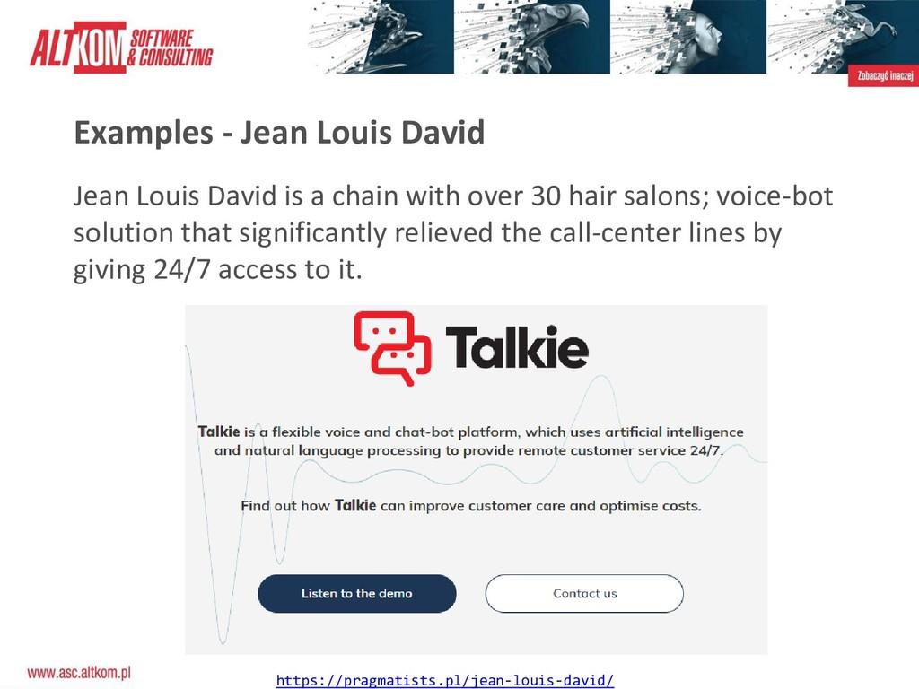 Examples - Jean Louis David https://pragmatists...