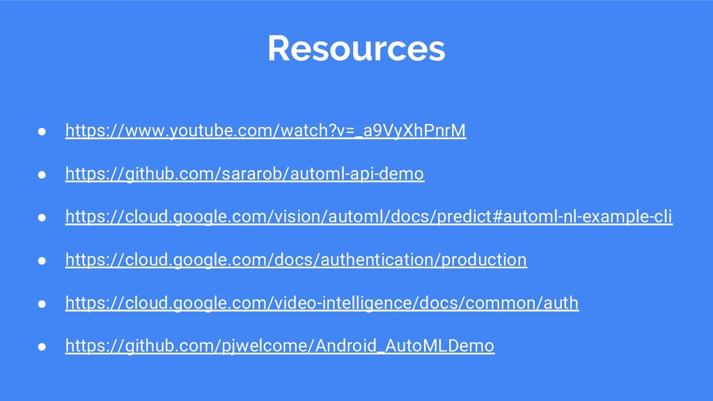 Resources ● https://www.youtube.com/watch?v=_a9...