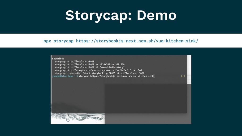 Storycap: Demo npx storycap https://storybookjs...