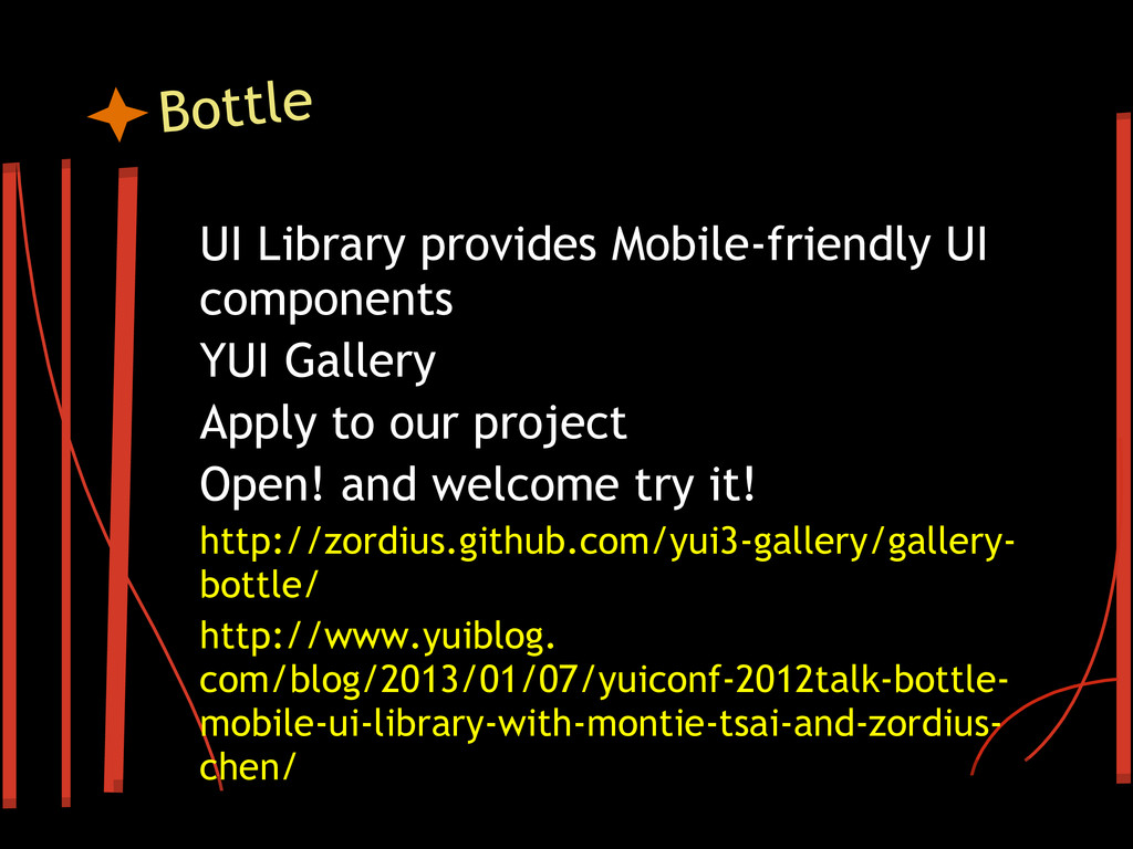 Bottle UI Library provides Mobile-friendly UI c...