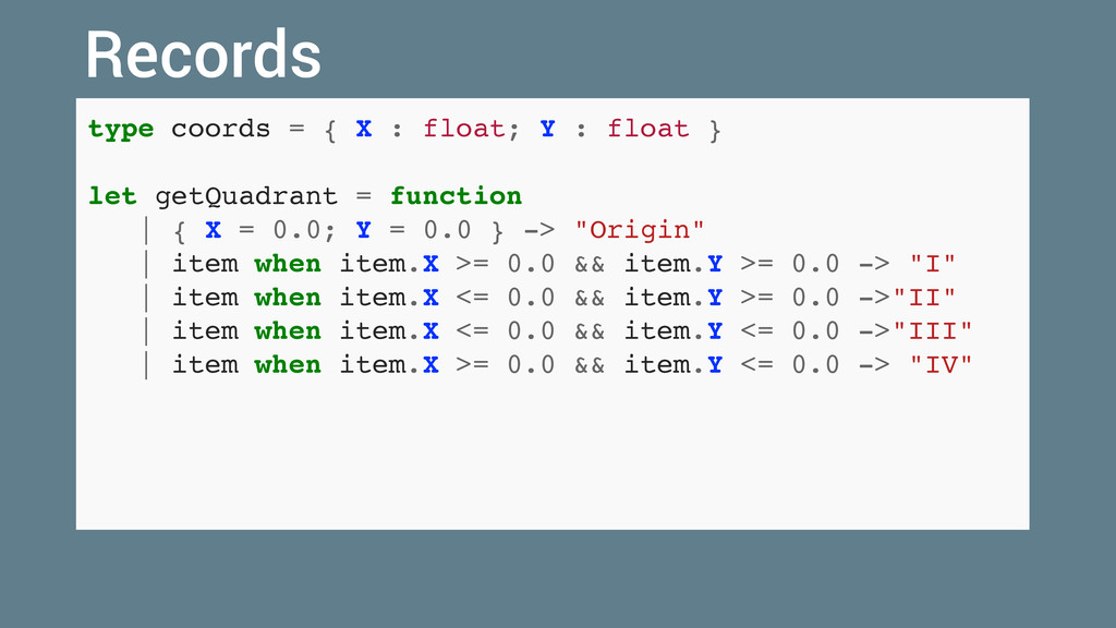 type coords = { X : float; Y : float } let getQ...