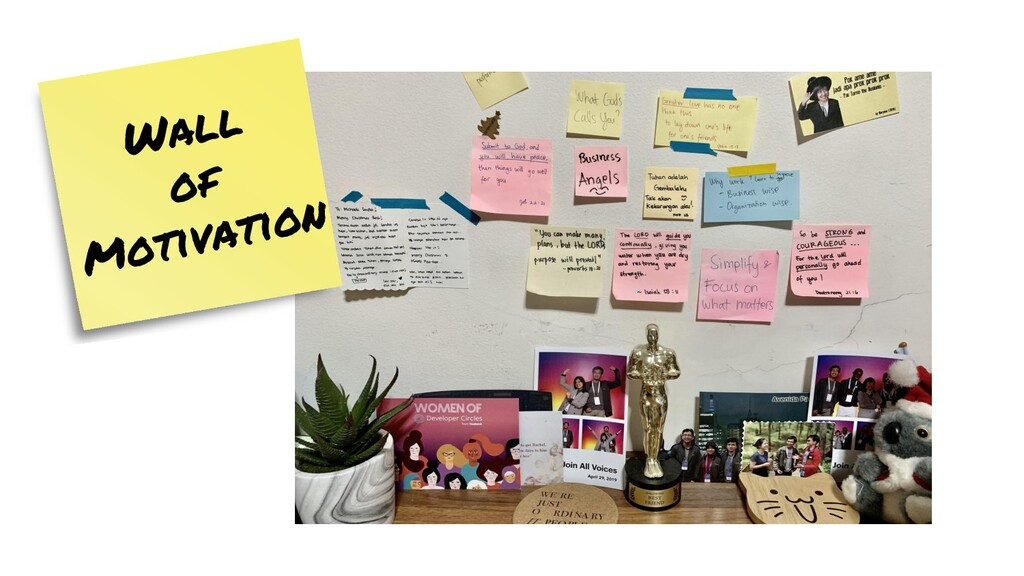 Wall of Motivation