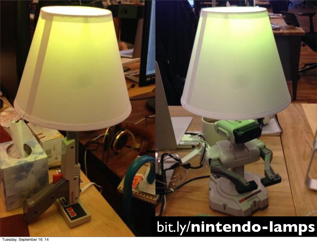 bit.ly/nintendo-lamps Tuesday, September 16, 14
