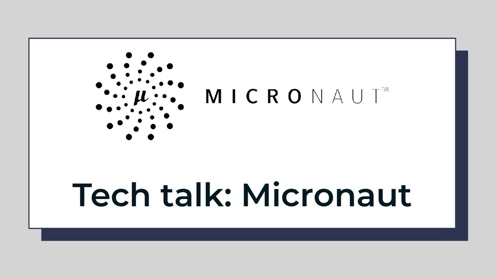 Tech talk: Micronaut