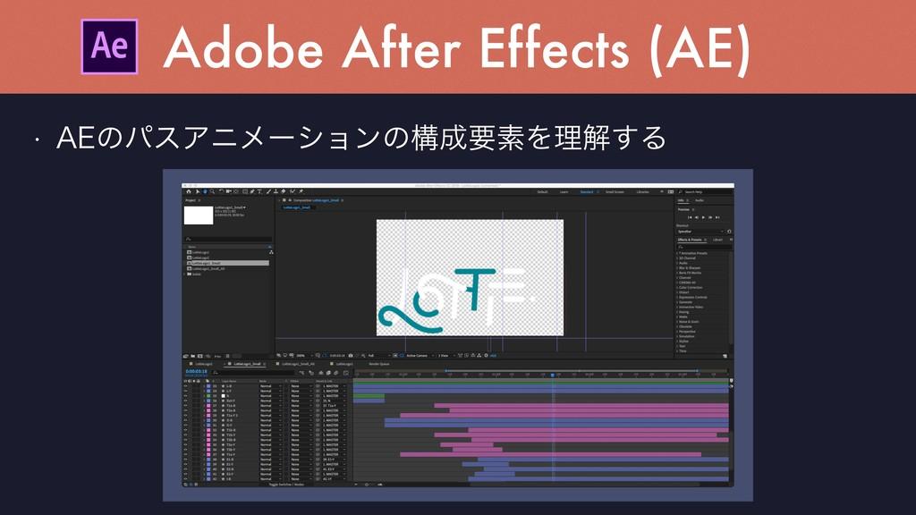 "w ""&ͷύεΞχϝʔγϣϯͷߏཁૉΛཧղ͢Δ Adobe After Effects (A..."