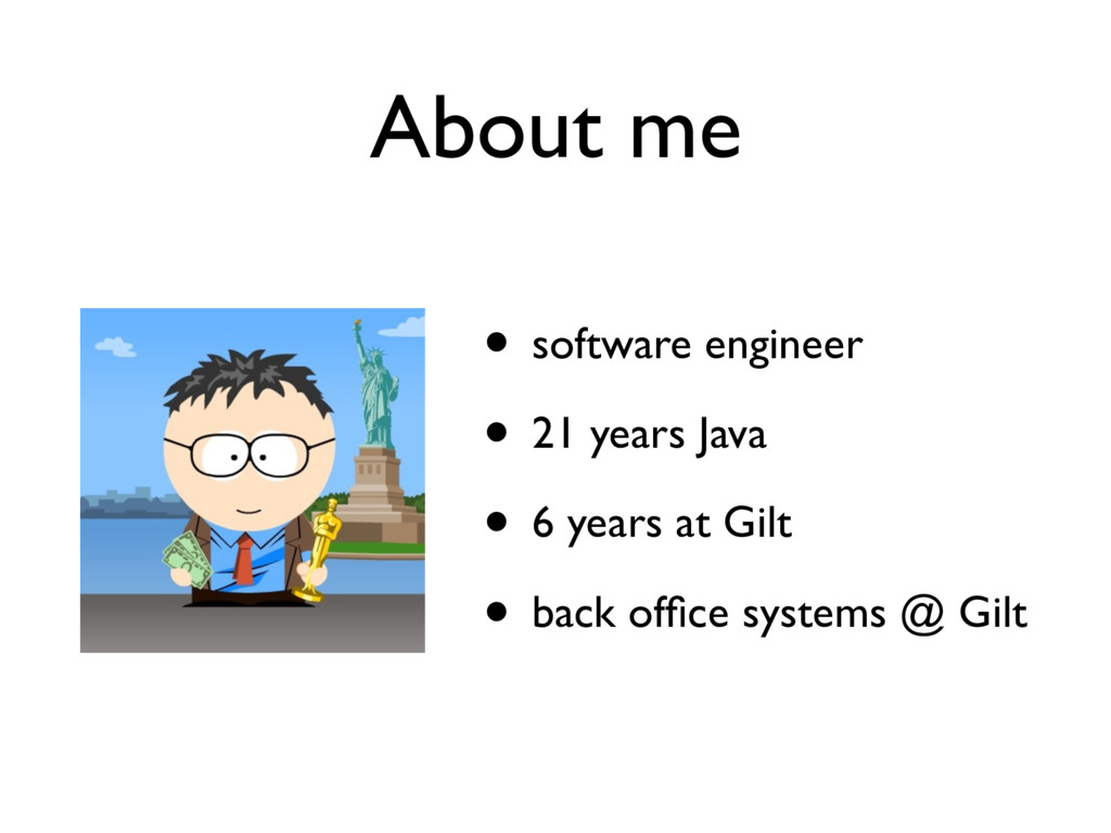• software engineer • 21 years Java • 6 years a...