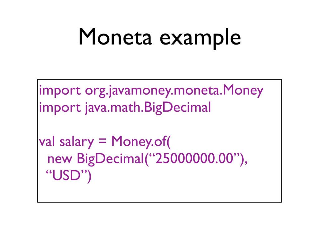 import org.javamoney.moneta.Money import java.m...