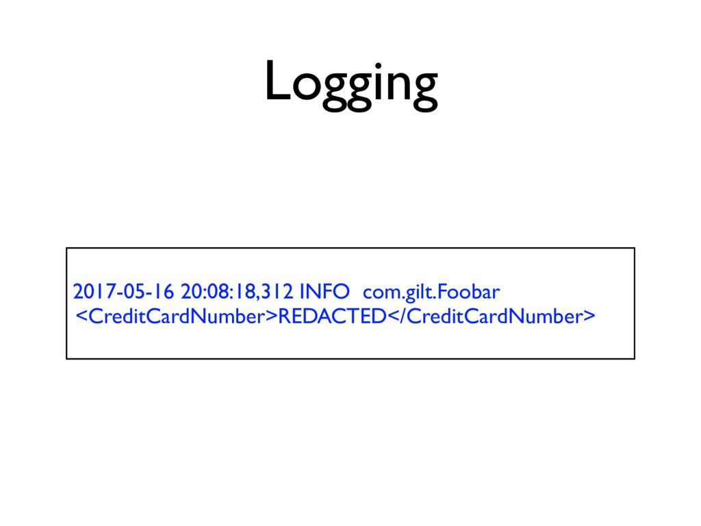 Logging 2017-05-16 20:08:18,312 INFO com.gilt.F...