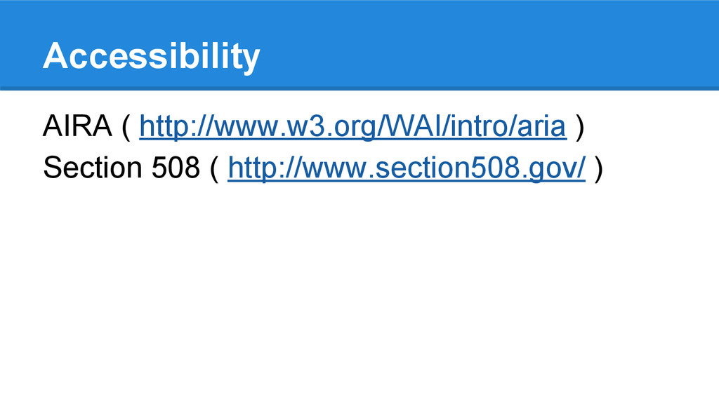 Accessibility AIRA ( http://www.w3.org/WAI/intr...