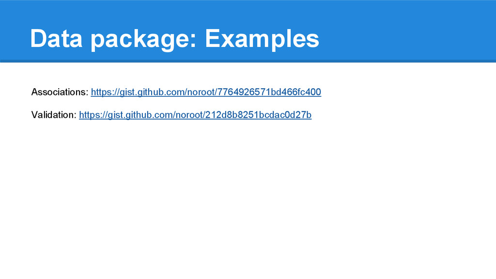 Data package: Examples Associations: https://gi...