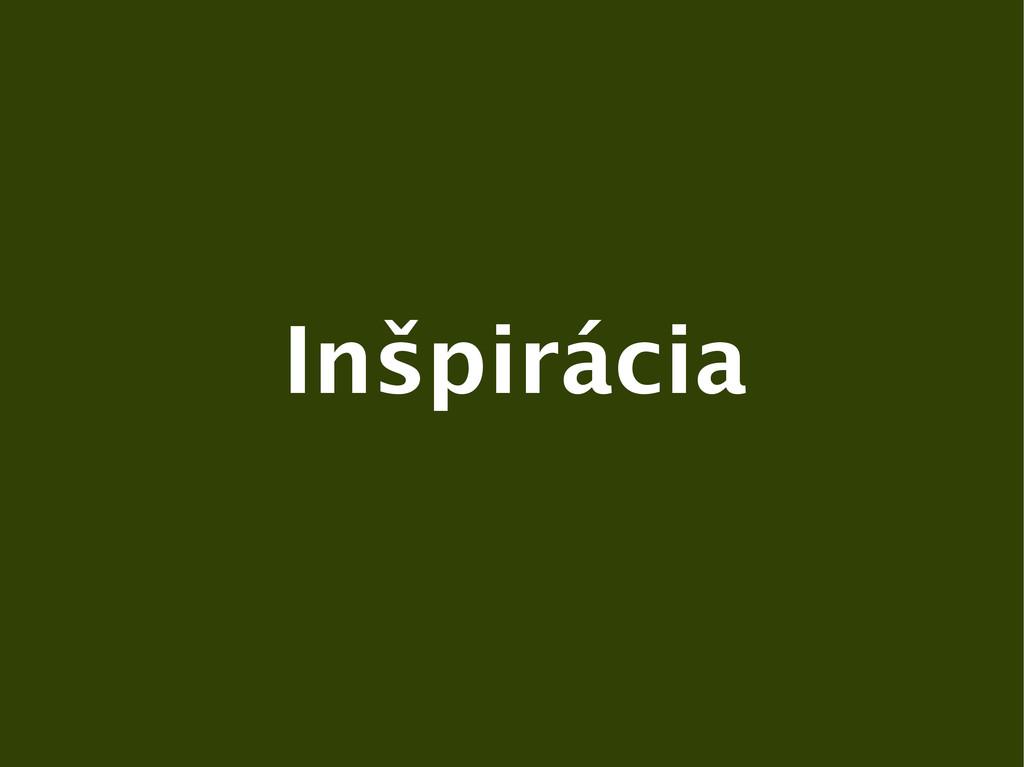 Inšpirácia