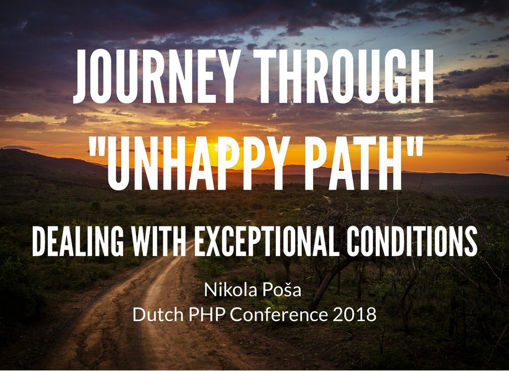 "JOURNEY THROUGH JOURNEY THROUGH ""UNHAPPY PATH"" ..."
