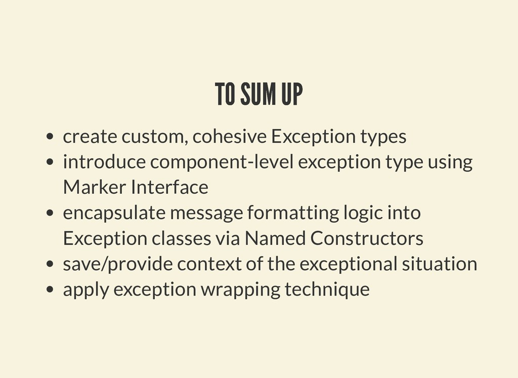 TO SUM UP TO SUM UP create custom, cohesive Exc...