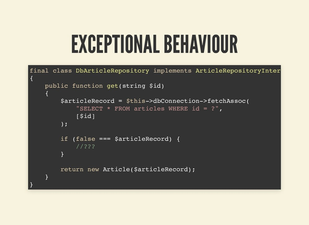 EXCEPTIONAL BEHAVIOUR EXCEPTIONAL BEHAVIOUR fin...