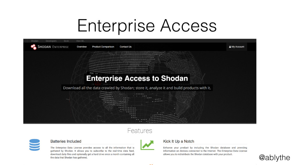 @ablythe Enterprise Access