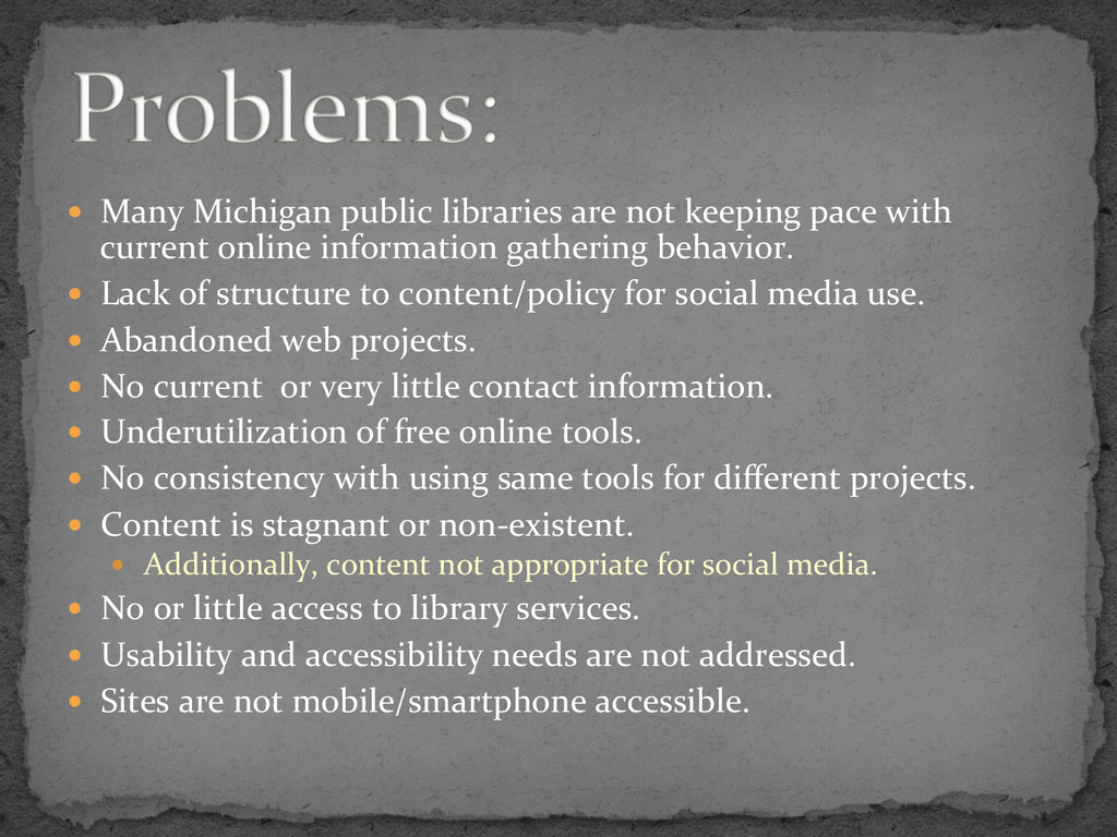 —  Many	