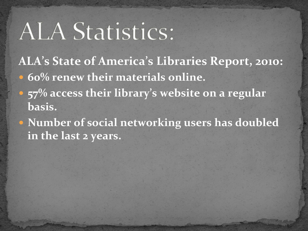ALA's	