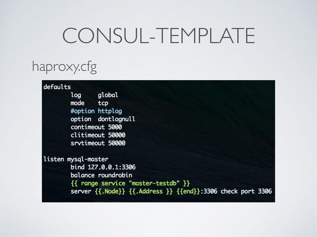CONSUL-TEMPLATE haproxy.cfg