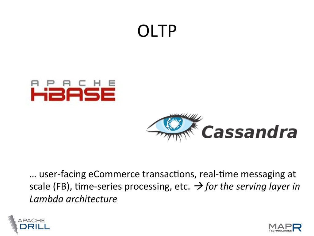 OLTP	